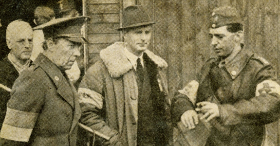 Den svenske greve Folke Bernadotte hentede i slutfasen af 2. verdenskrig danske og norske politibetjente hjem fra tyske koncentrationslejre i hvide busser.