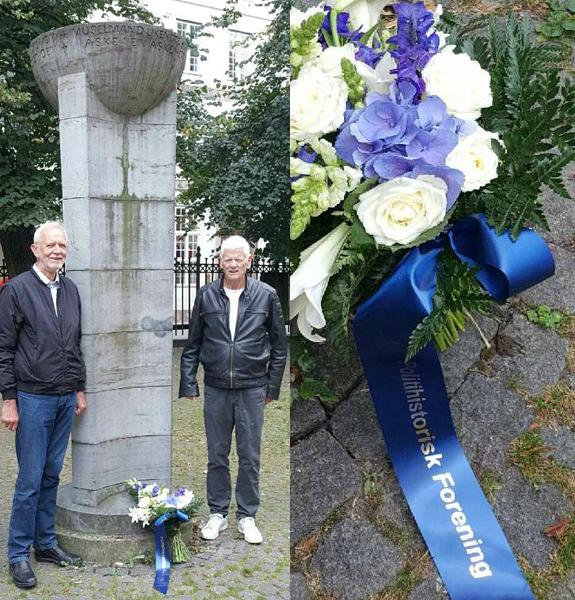 Formand Povl Rasmussen og næstformand Frank Bøgh.