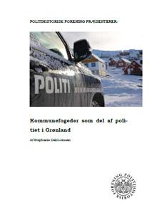 Kommunefogeder som del af politiet i Grønland