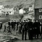 patruljerende politi i Klaksvik