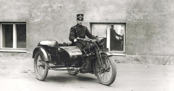 Mortorcykel med sidevogn