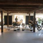 Politiets motorcykler på Egeskov Slot