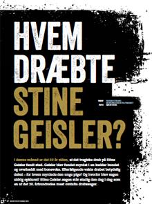 Hvem dræbte Stine Giesler?